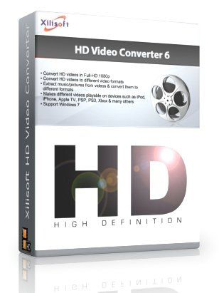Xilisoft HD Video Converter 6.8.0 build 1101