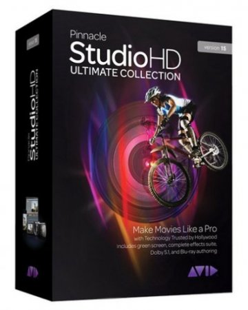 Скачать Pinnacle Studio HD 15 FULL v15.0.0.7593 Rus